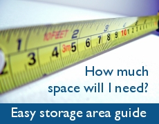 self store space guide for secure storage units in New Forest, Lymington and New Milton